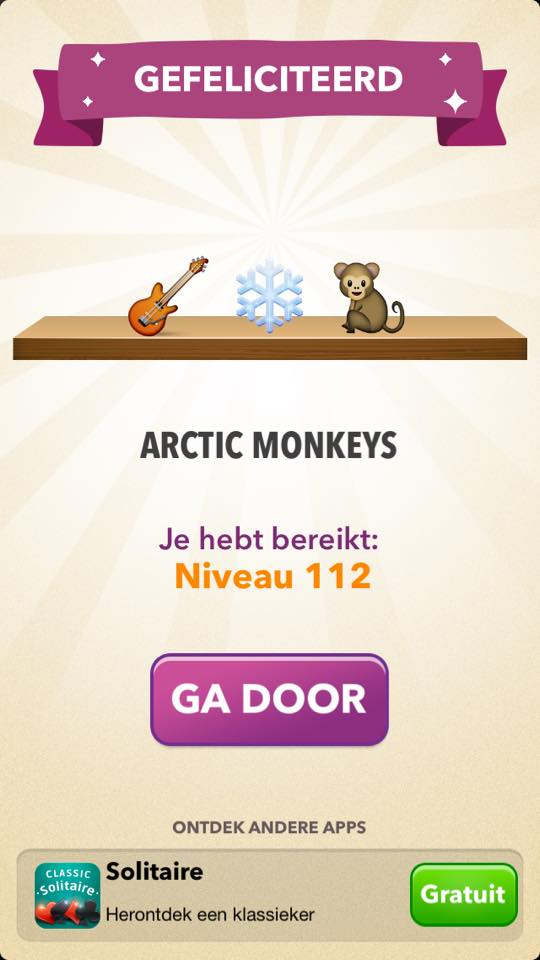 antwoord emoji quiz niveau 112
