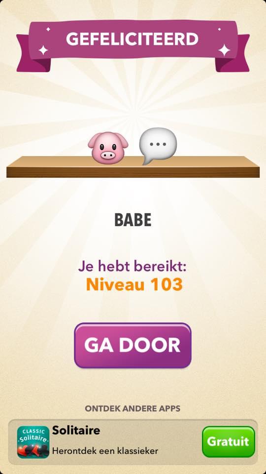 antwoord emoji quiz niveau 103