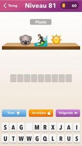emoji quiz niveau 81